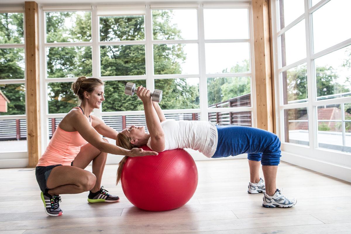 Personal Training Hamburg - Mieke Tasch gibt personal Training mit Fokus Fettabbau und Muskelstraffung