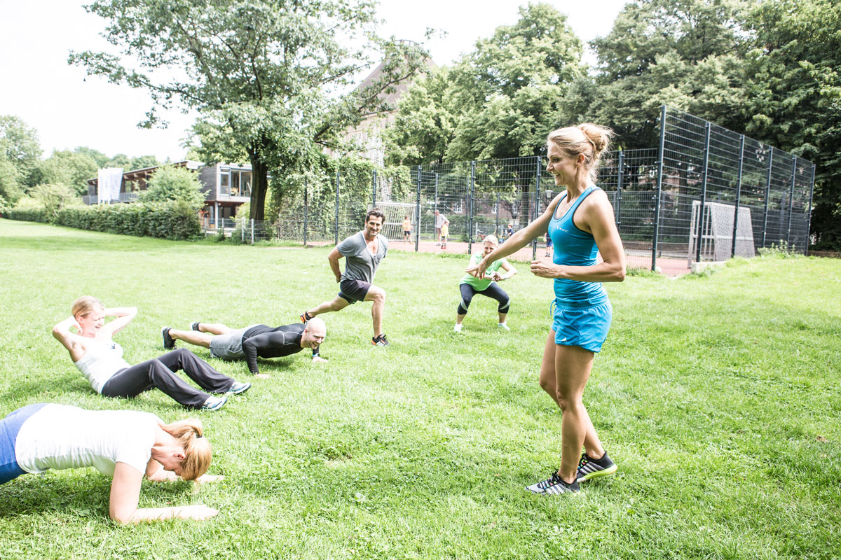 Boot Camp Training Hamburg mit Mieke Tasch